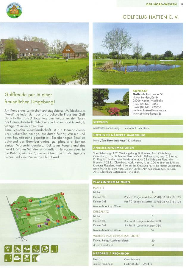 Golf Guide 2013