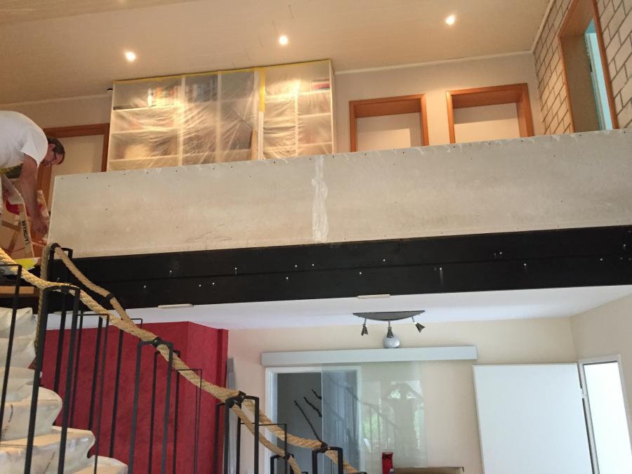 Treppengeländer in Trockenbauweise