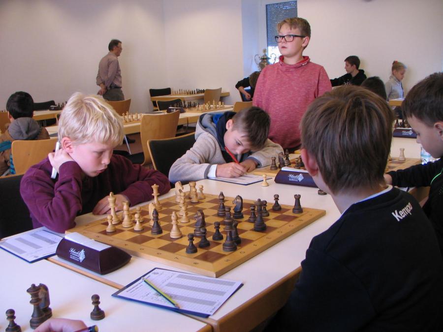 Bezirksjugendeinzelmeisterschaft 2018
