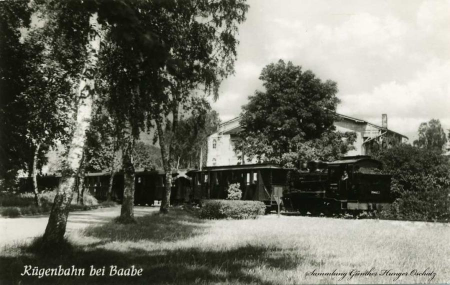 Rügenbahn bei Baabe