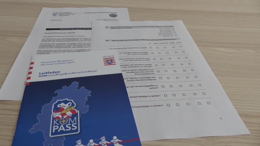 Link zu: Sicherheitsbefragung der Justus-Liebig-Universität Gießen 2019