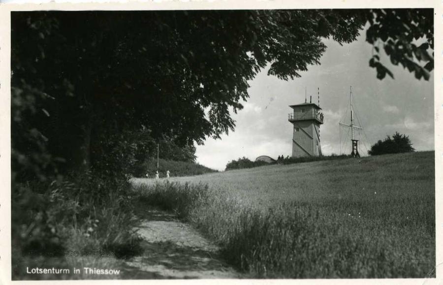 Lotsenturm Thiessow 1955