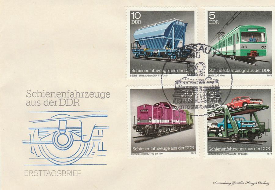 Schienenfahrzeuge aus der DDR