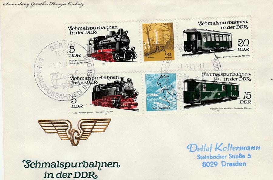 Schmalspurbahnen in der DDR