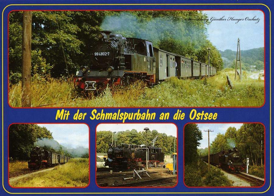"""Mit der Schmalspurbahn an die Ostsee """"Der Rasende Roland"""""""