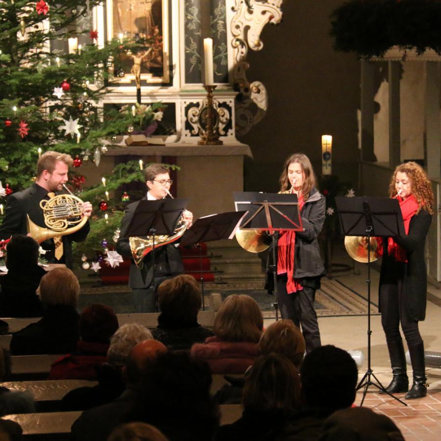 Konzert des GrunewaldHornEnsembles am 18.12. in Kremmen