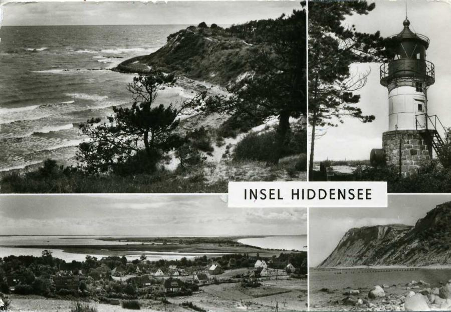 Insel Hiddensee 1980