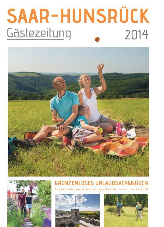 Gästezeitung Saar-Hunsrück 2014