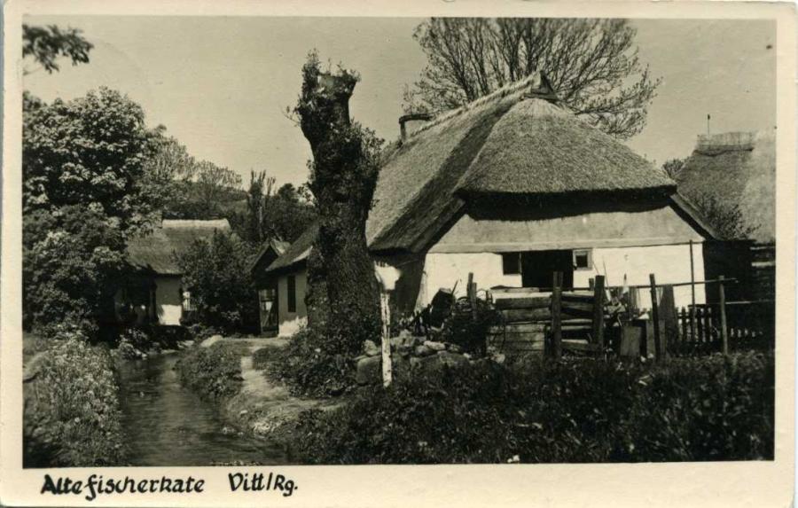 Fischerkate Vitt 1956