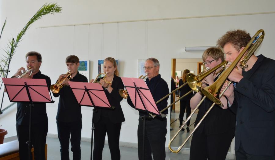Bläserensemble der Kreismusikschule Prignitz I Foto: Christiane Schomaker