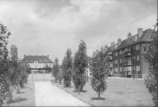 Gärten der Siedlung