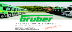 Spedition Gruber