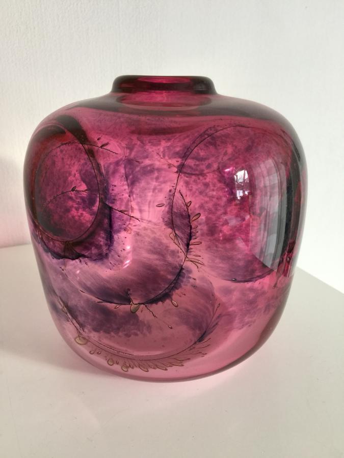 Vase von Benny Matzfeld aus dem Jahr 1979