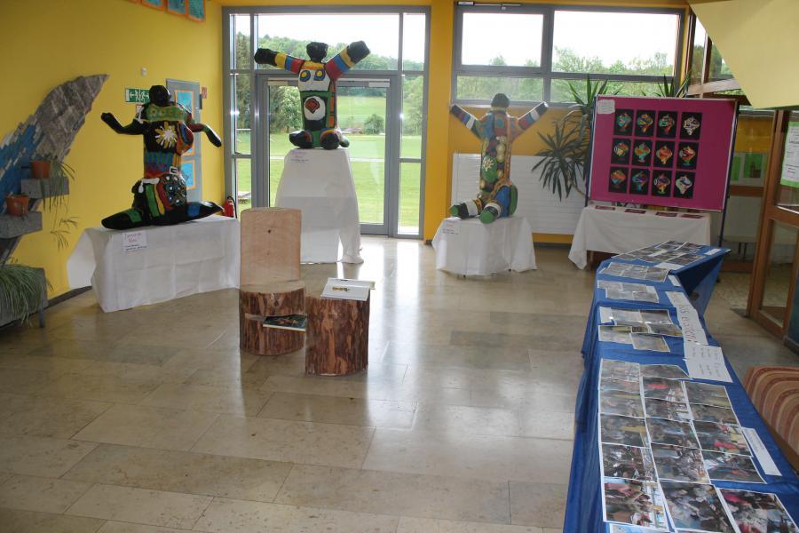 Kunstausstellung 3a-7