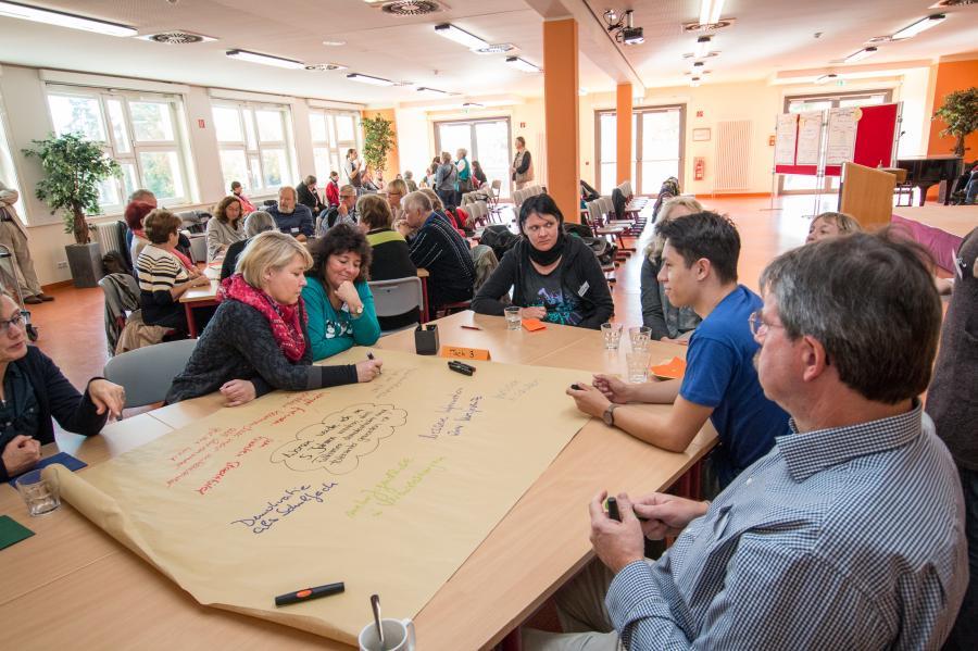 1. Demokratiekonferenz (Quelle: Partnerschaft für Demokratie)