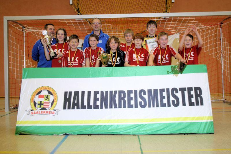 Hallenkreismeister 2014 - D-Junioren
