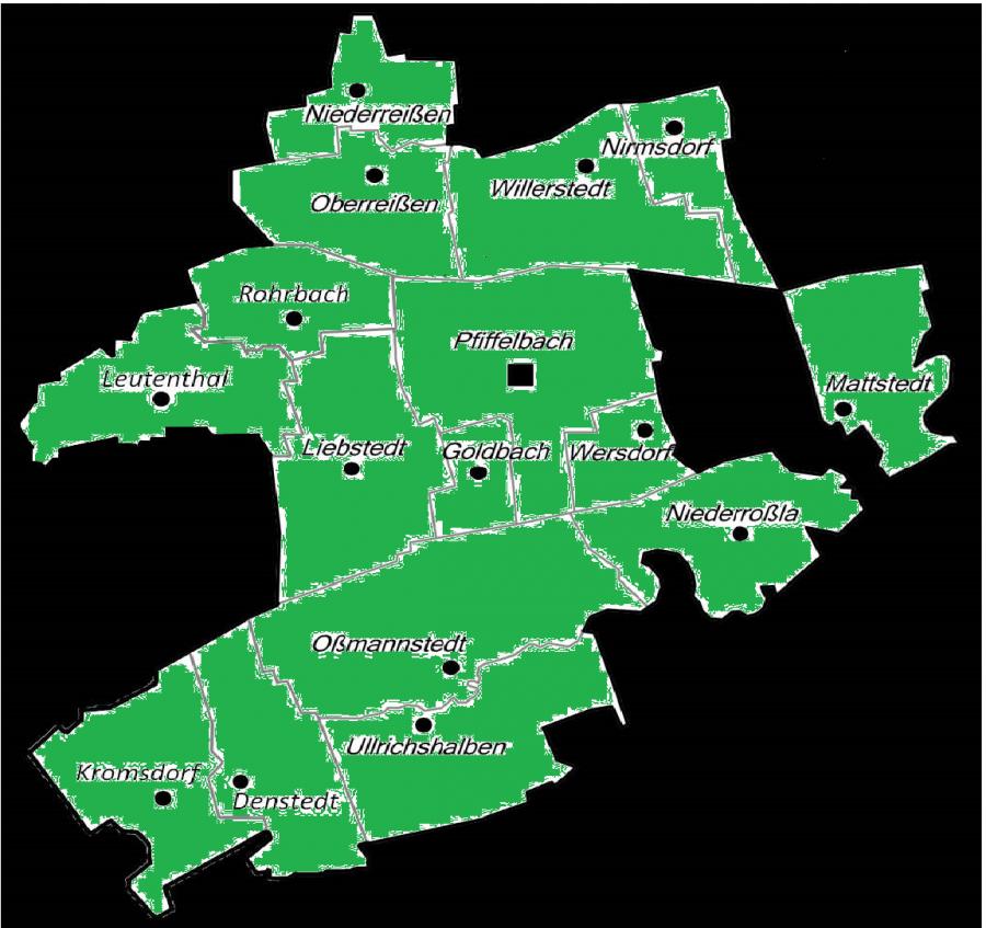 Karte Landgemeinde