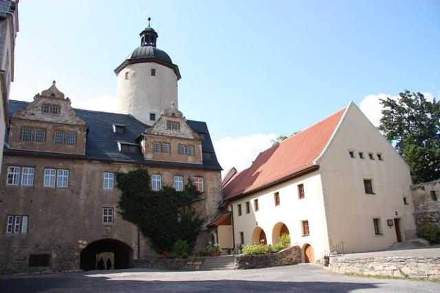 Innenansicht Burghof