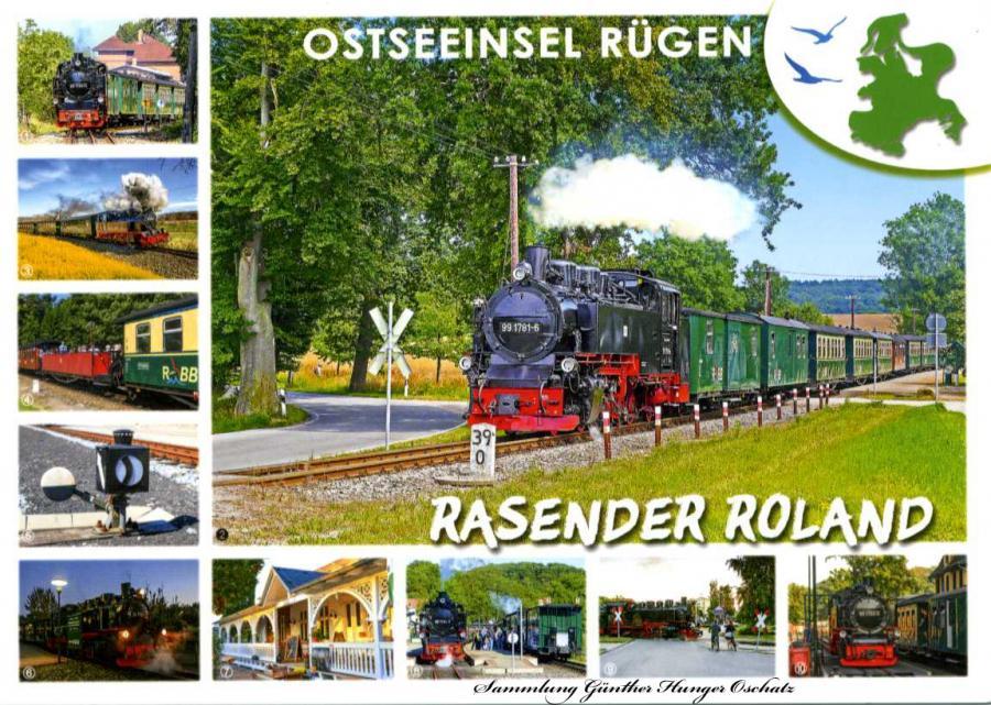 Ostseeinsel Rügen Rasender Roland