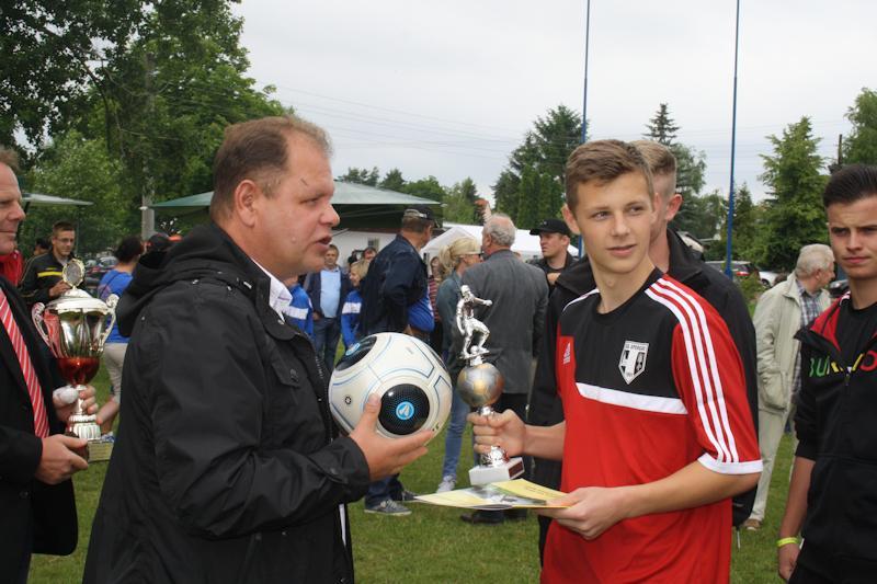 Ehrung Kreismeister B-Junioren - SG Spergau