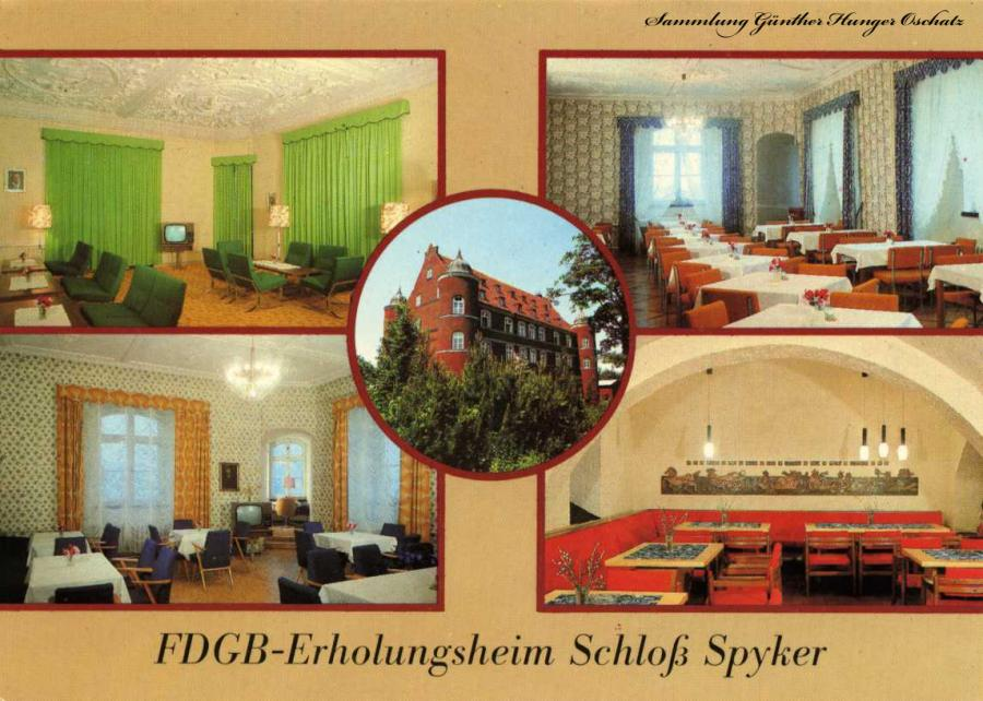 FDGB -Erholungsheim Schloß Spyker