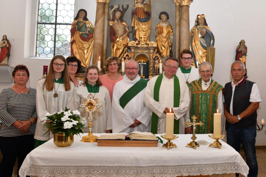 Verabschiedung Pfarrer Hans Riedl