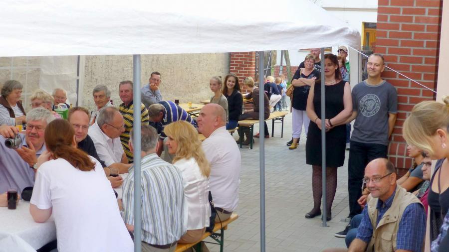 Eröffnungsfeier, ©Stephan Becker, Brüssow