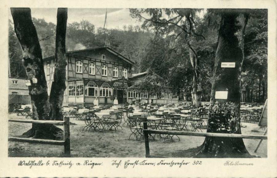 Waldhalle b. Sassnitz  a. Rügen