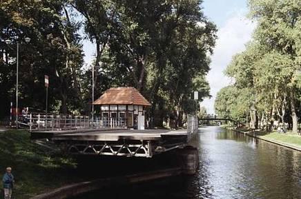 Drehbrücke (Quelle: Zentrum für Promotion und touristische Information Gizycko)