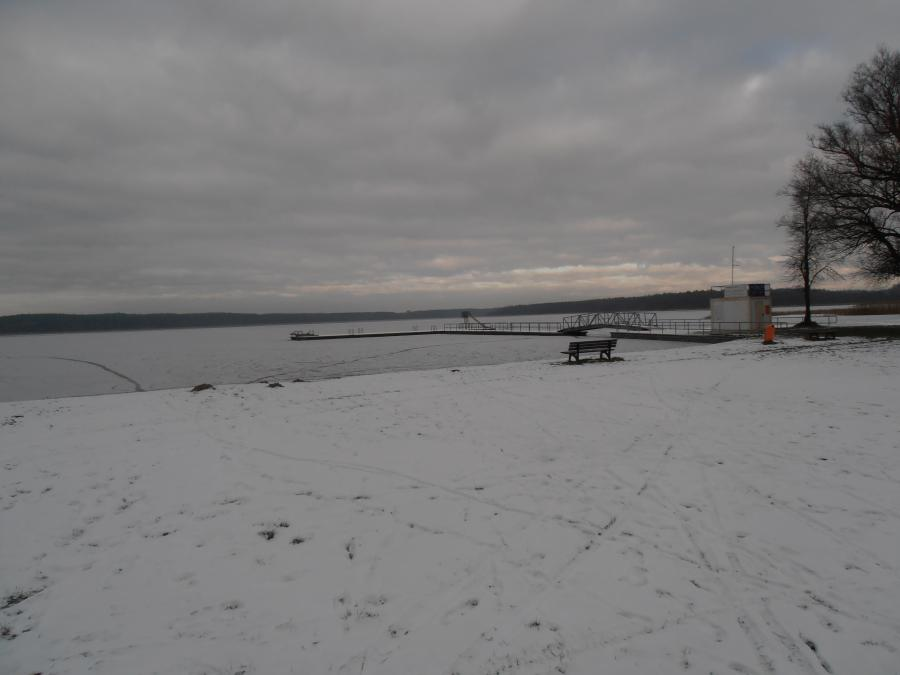 Winter am Wariner See