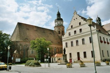 Historischer Stadtkern von Herzberg (Elster), Foto: Mathias Krüger