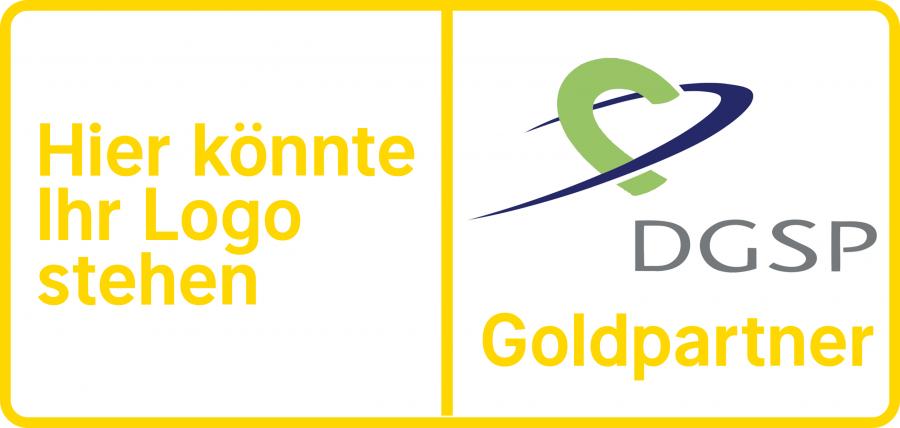Die DGSP-Goldpartnerschaft ist derzeit verfügbar