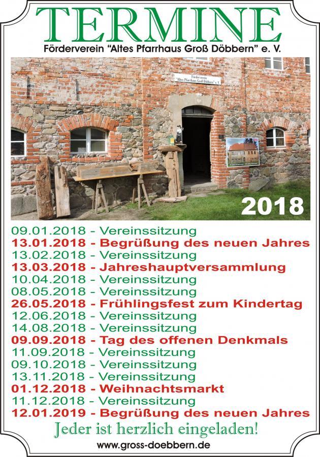 Termine 2018