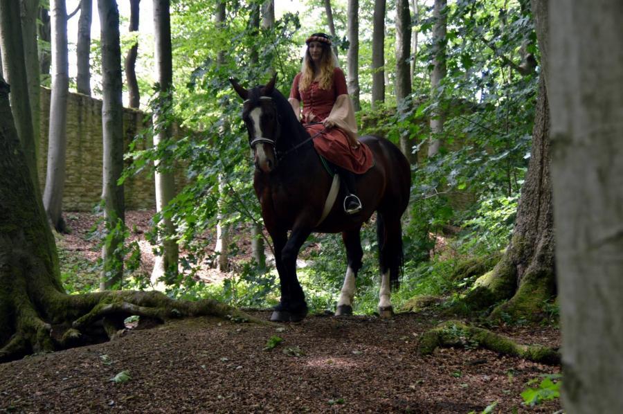 Burgfräulein auf dem Landecker