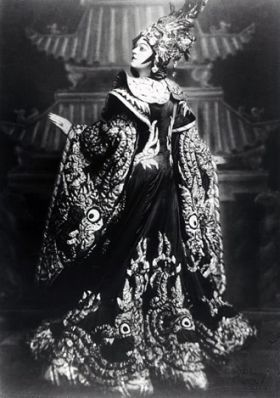 LOTTE LEHMANN AS TURANDOT