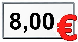 8,00 €