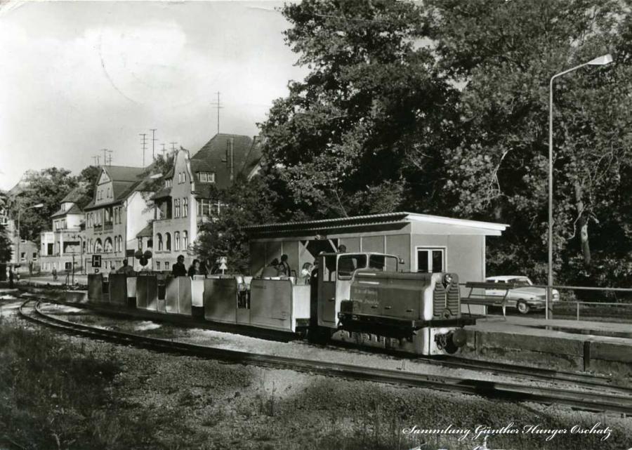 """Bernburg Pioniereisenbahn """"Druschba"""""""