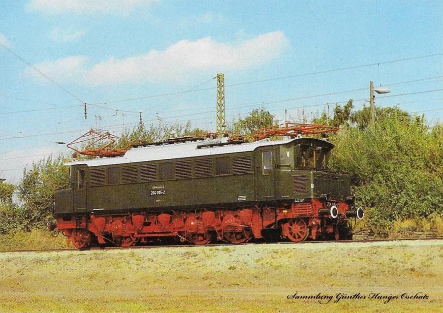 100 Jahre E-Lok Verkehrsmuseum Dresden  Elektrische Schnellzuglokomotive der Baureihe 204 (früher E 04)