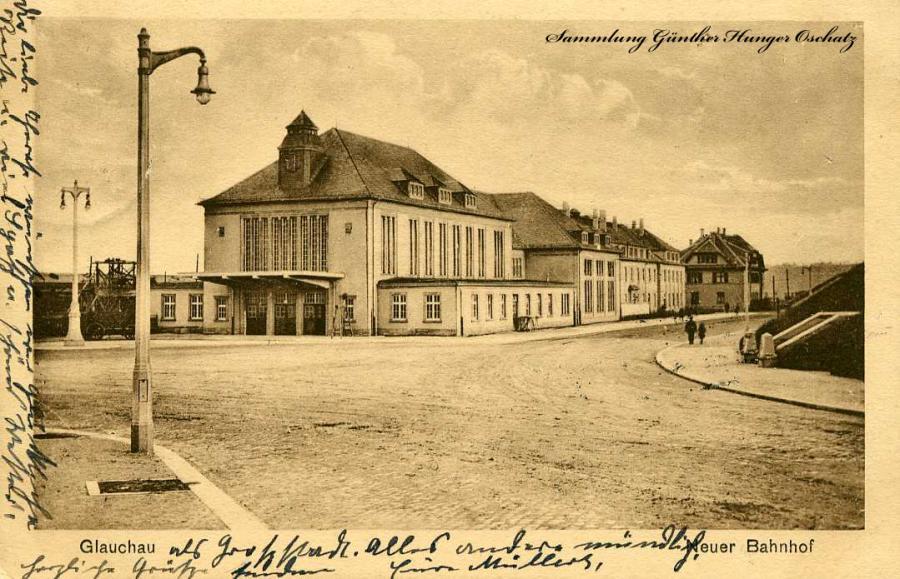 Glauchau Neuer Bahnhof