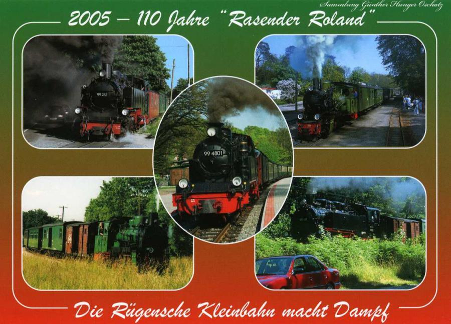 """1995 -100 Jahre """"Rasender Roland"""""""