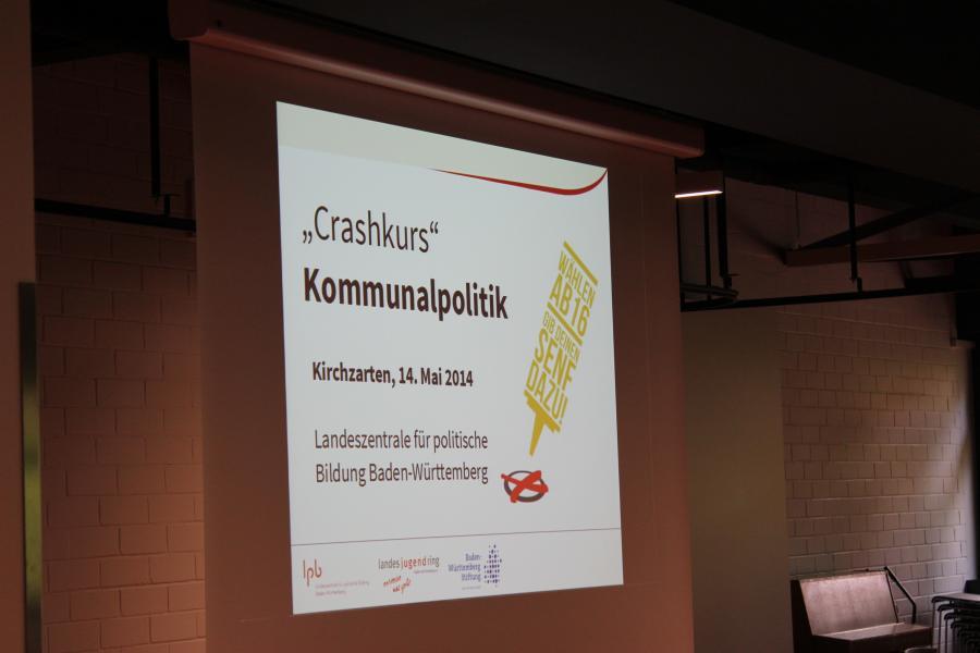 Erstwählerveranstaltung im Schulzentrum Kirchzarten