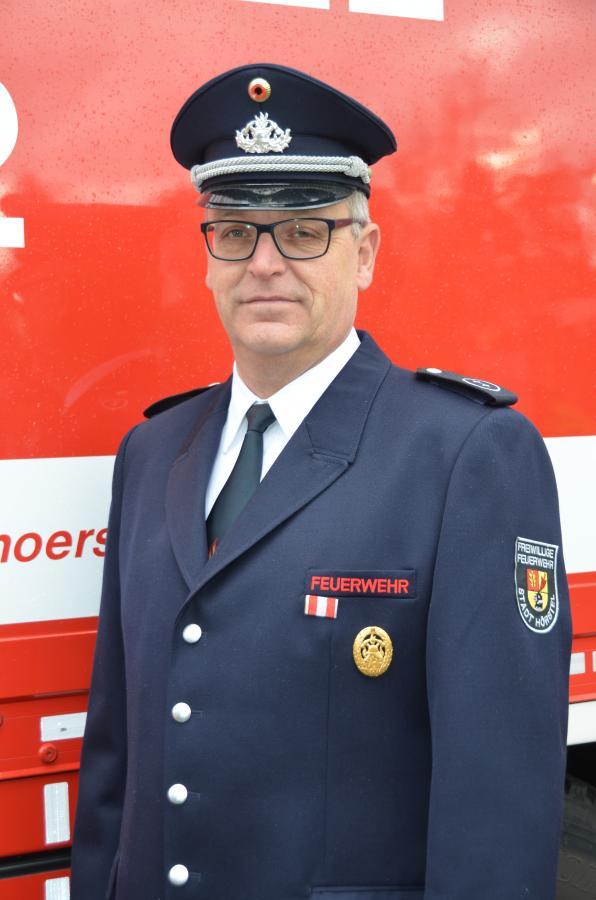 Zugführer Thomas Gladen