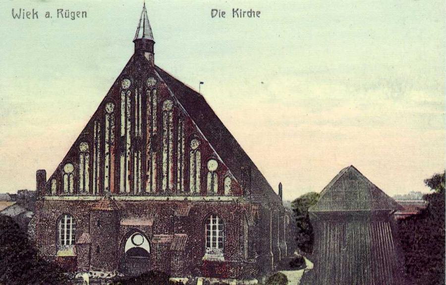 Wiek a. Rügen Die Kirche