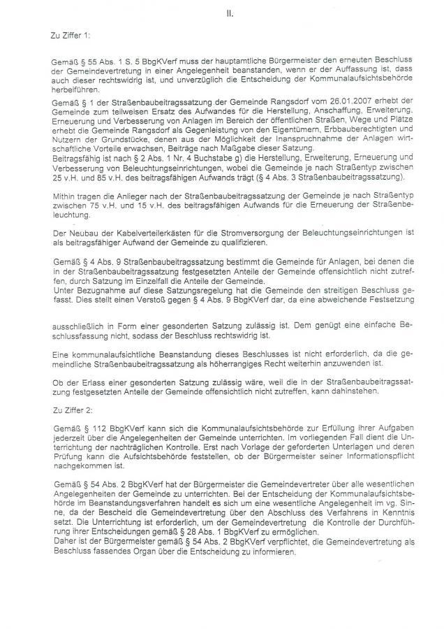 © Gemeinde Rangsdorf - Bescheid Landkreis Teltow-Fläming - Seite 2