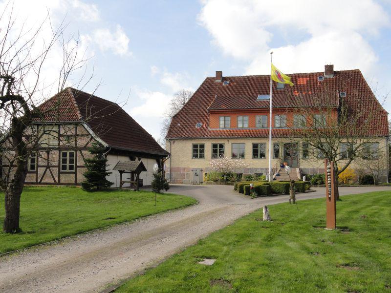 Die alte Oberförsterei in Groß Brebel, heute ein Kinderheim