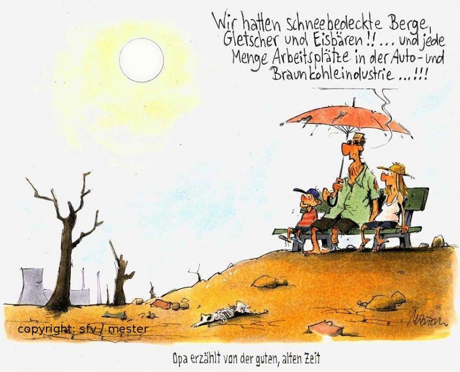Opa Klimawandel