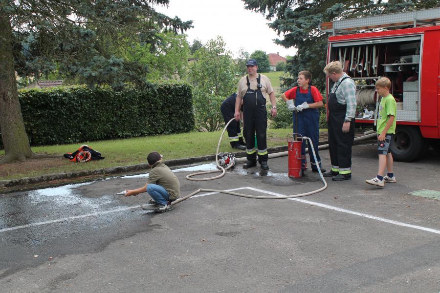 Schulfest 2014 Feuerwehr