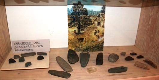 Fundstücke aus der Jungsteinzeit