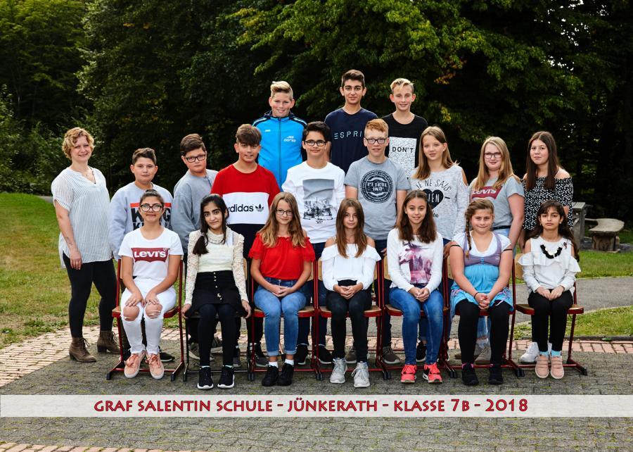 Klasse 7b 20182019