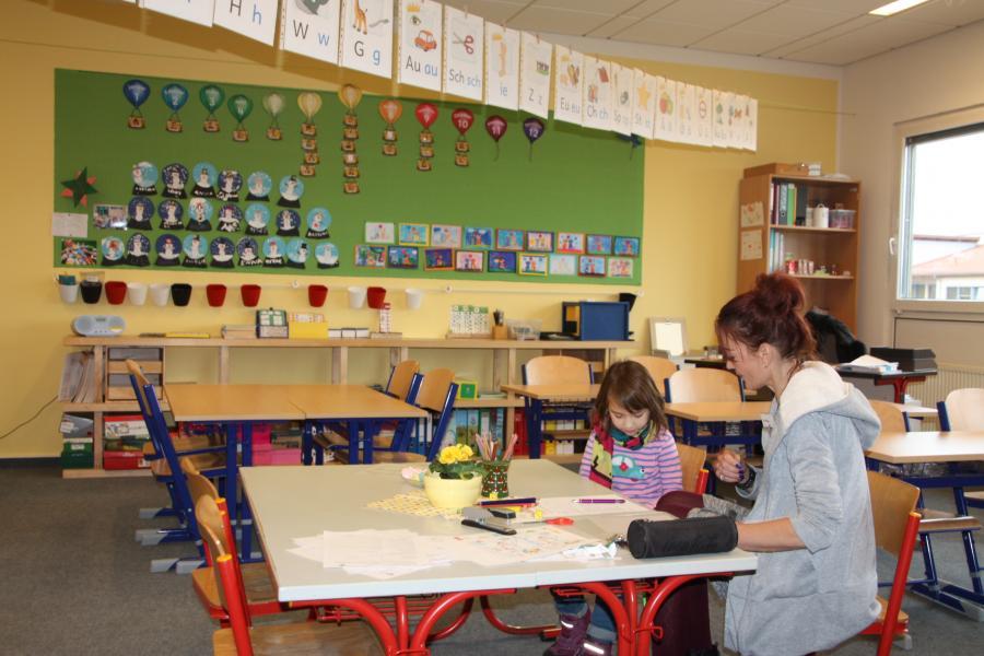 Klassenraum im Flexbereich